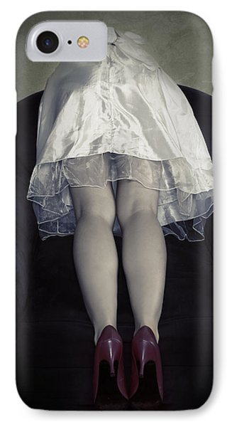 The Bride From Behind Phone Case by Joana Kruse