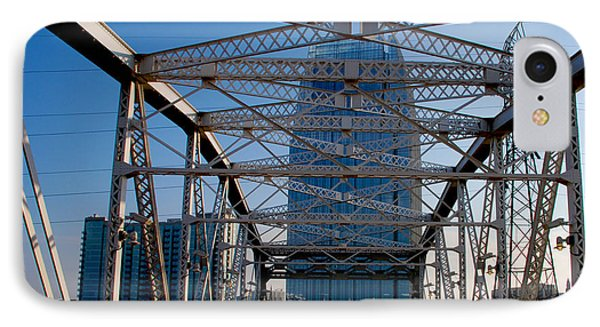 The Bridge In Nashville Phone Case by Susanne Van Hulst
