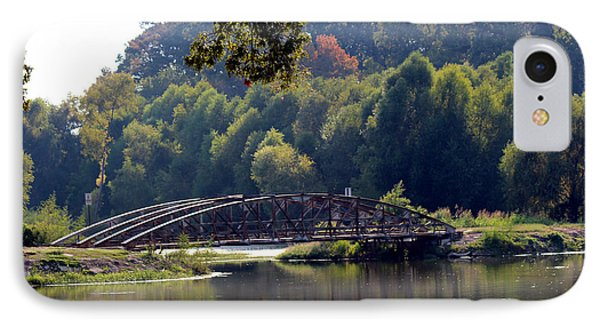 IPhone Case featuring the photograph The Bridge by Kathy  White