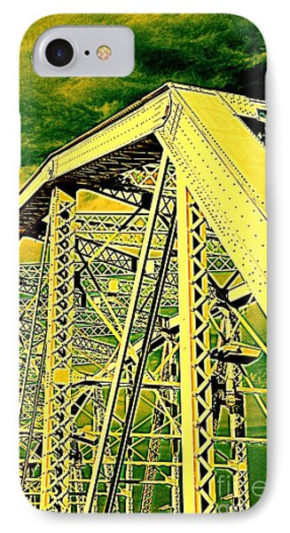 The Bridge To The Skies Phone Case by Susanne Van Hulst