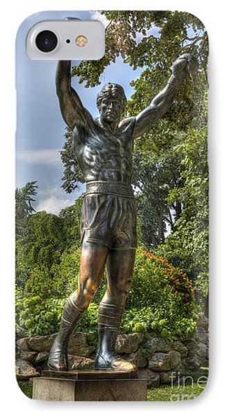 The Bronze Stallion II - Rocky Balboa - Philadelphia - Pennsylvania - Rocky Steps IPhone Case
