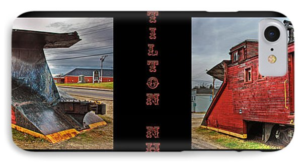 The Caboose Phone Case by Joann Vitali