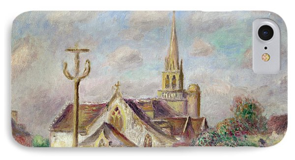 The Calvary At Pont Aven Phone Case by Pierre Auguste Renoir