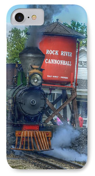 The Cannonball Express IPhone Case by Janice Adomeit