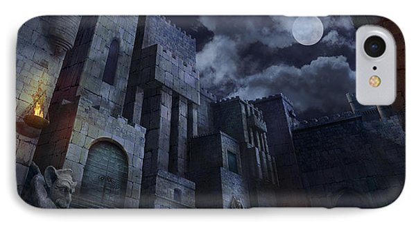 The Castle Phone Case by Virginia Palomeque