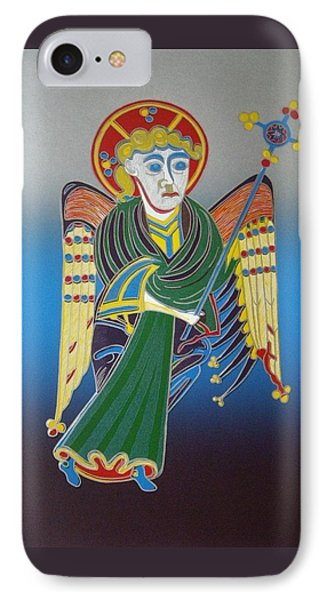 The Celtic Angel Phone Case by Jarle Rosseland