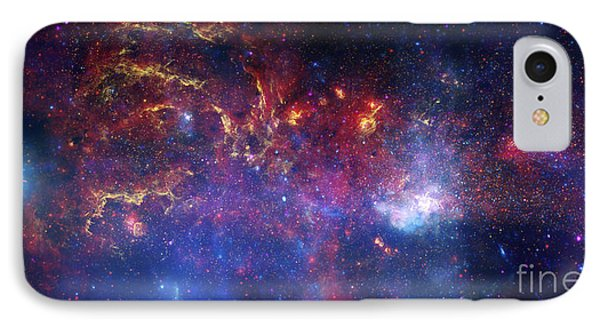 The Central Region Of The Milky Way Phone Case by Stocktrek Images