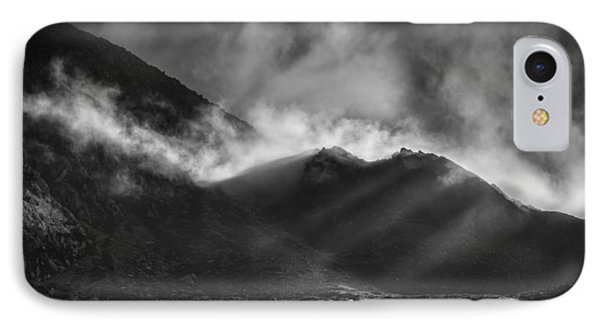 The Chancel In Black And White Phone Case by Andy Astbury