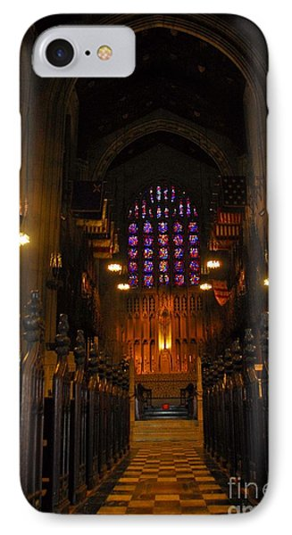 IPhone Case featuring the photograph The Chapel At Valley Forge Park by Cindy Manero