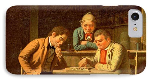 The Checker Players Phone Case by George Caleb Bingham