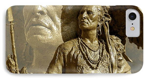 IPhone Case featuring the photograph The Chief by Ginny Schmidt