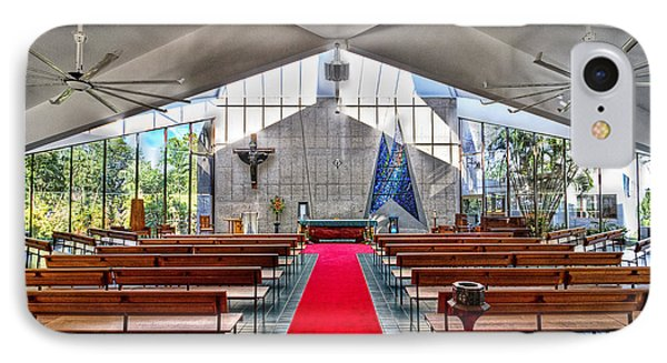 The Church Of Natural Light Hdr Phone Case by Douglas Barnard