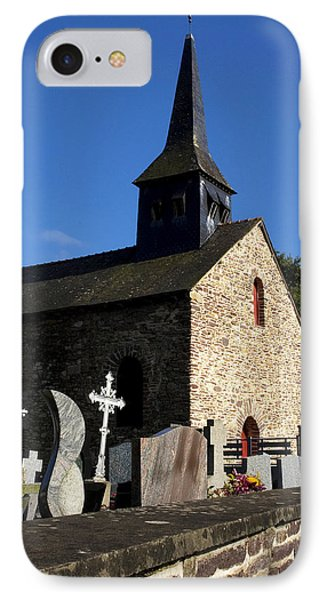 The Church Of Sainte-onenne Phone Case by Fabrizio Troiani