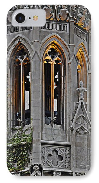 The Church Tower Phone Case by Mary Machare