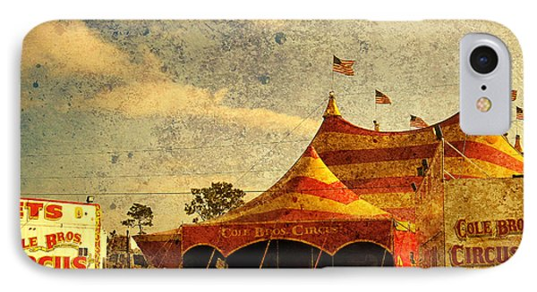 The Circus Is In Town Phone Case by Susanne Van Hulst