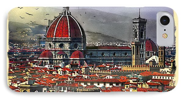 The City Of Florence IPhone Case