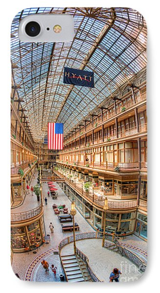 The Cleveland Arcade Iv Phone Case by Clarence Holmes