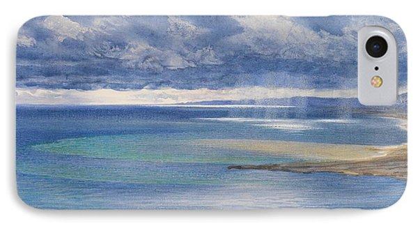 The Coast Of Sicily From The Taormina Cliffs Phone Case by John Brett