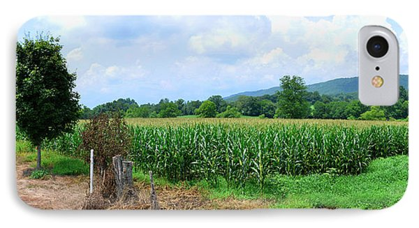 IPhone Case featuring the photograph The Corn Field by Paul Mashburn