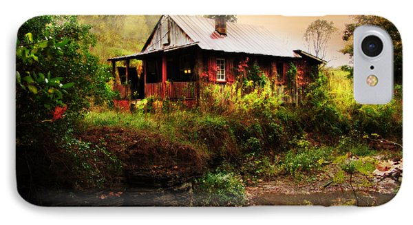 The Cottage By The Creek Phone Case by Lj Lambert