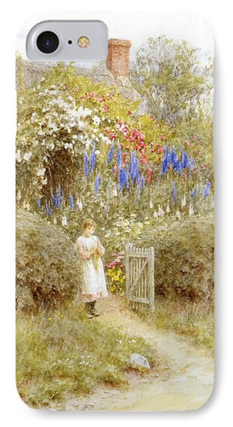 The Cottage Gate Phone Case by Helen Allingham