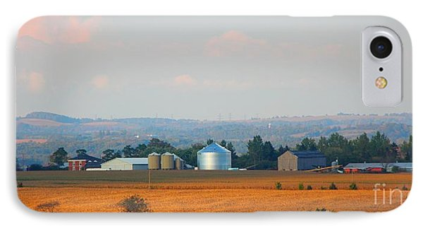 IPhone Case featuring the photograph The Countryside by Davandra Cribbie