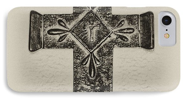 The Cross Phone Case by Bill Cannon