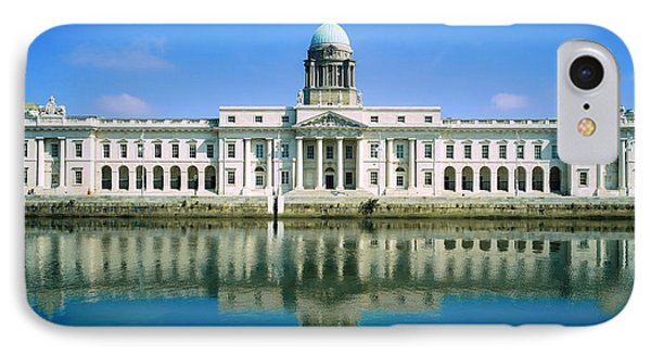 The Custom House, River Liffey, Dublin Phone Case by The Irish Image Collection