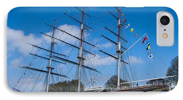 The Cutty Sark Greenwich IPhone Case by Dawn OConnor