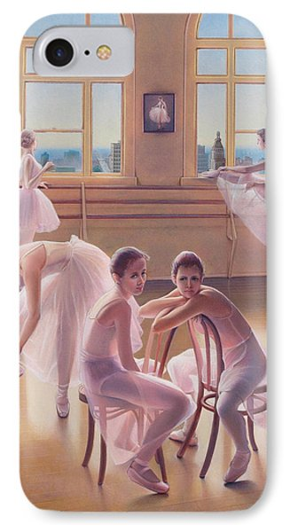 The Dance Class IPhone Case by Patrick Anthony Pierson