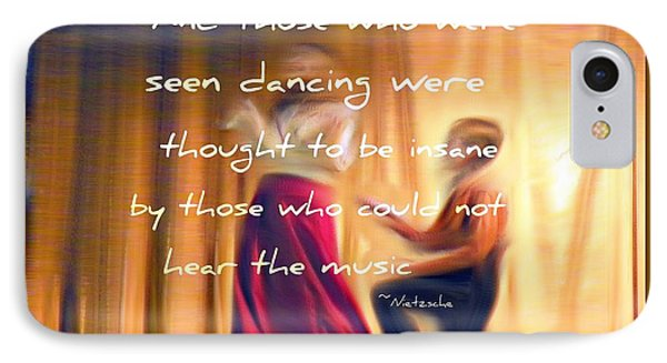 The Dance Phone Case by Michelle Frizzell-Thompson