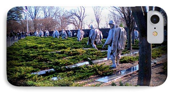 IPhone Case featuring the photograph The Dc War Memorials Washington  D.c. by Danielle  Parent