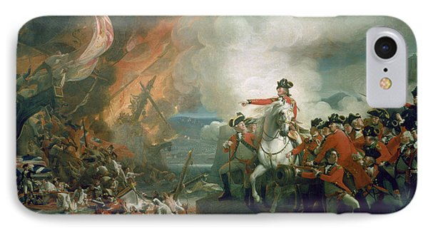 The Defeat Of The Floating Batteries At Gibraltar IPhone Case