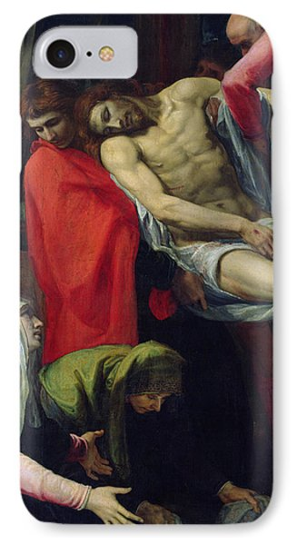 The Descent From The Cross Phone Case by Bartolome Carducci