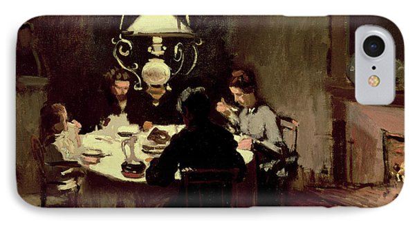 The Dinner Phone Case by Claude Monet