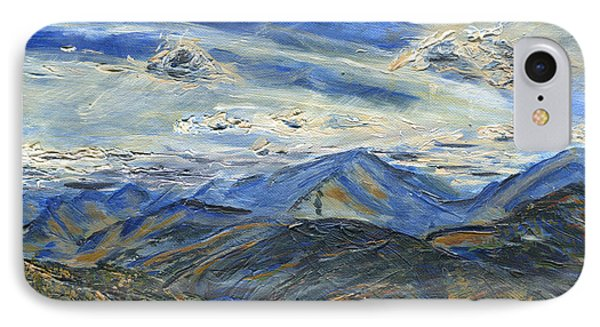 The Dix Range From Giant Peak IPhone Case by Denny Morreale