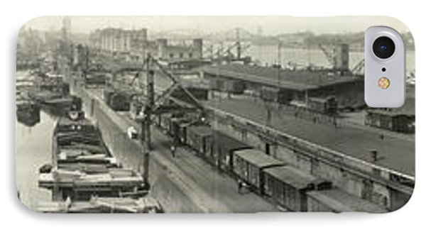 The Docks At Cologne - Germany - C. 1921 Phone Case by International  Images