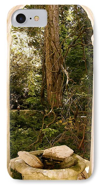 IPhone Case featuring the photograph The Doorway by Robin Regan