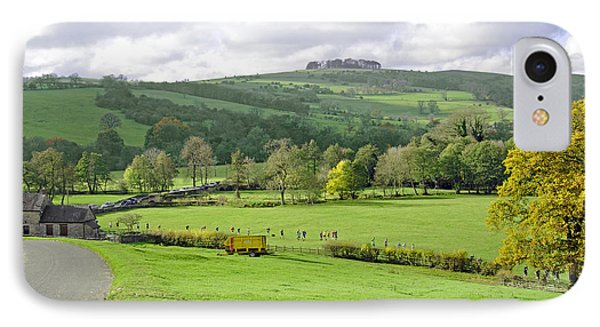 The Dovedale Dash By Thorpe Mill Farm Phone Case by Rod Johnson