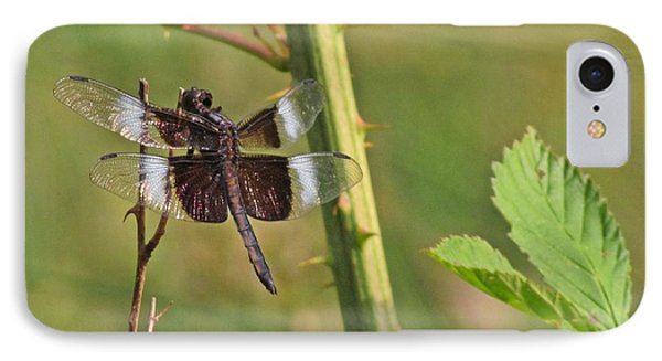 IPhone Case featuring the photograph The Dragon Fly 3 by Laurinda Bowling