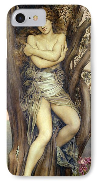 The Dryad Phone Case by Evelyn De Morgan