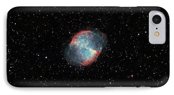 The Dumbbell Nebula Phone Case by Rolf Geissinger
