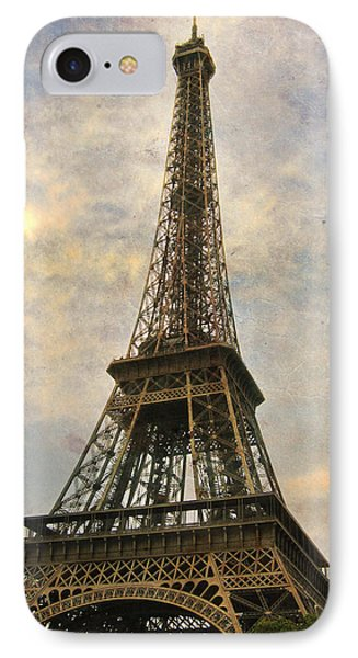 The Eiffel Tower Phone Case by Laurie Search