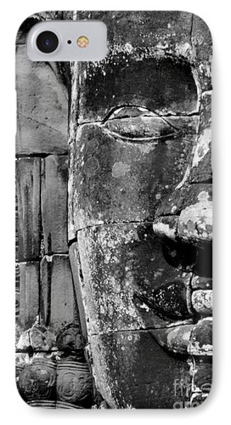IPhone Case featuring the photograph The Face Of Angkor by Nola Lee Kelsey