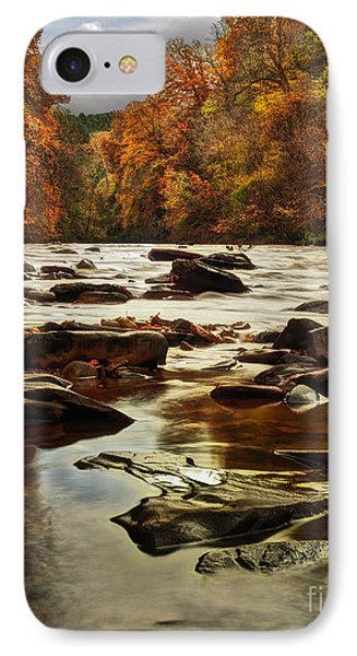 The Fall On The River Avon  IPhone Case by John Farnan