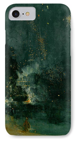The Falling Rocket IPhone Case by James Abbott Whistler