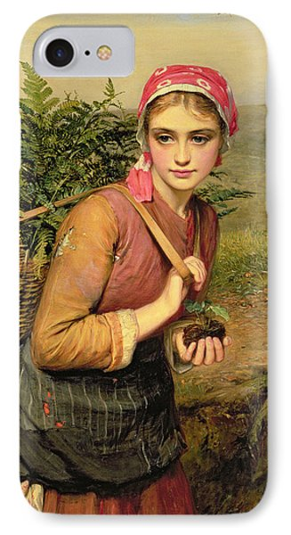 The Fern Gatherer IPhone Case by Charles Sillem Lidderdale