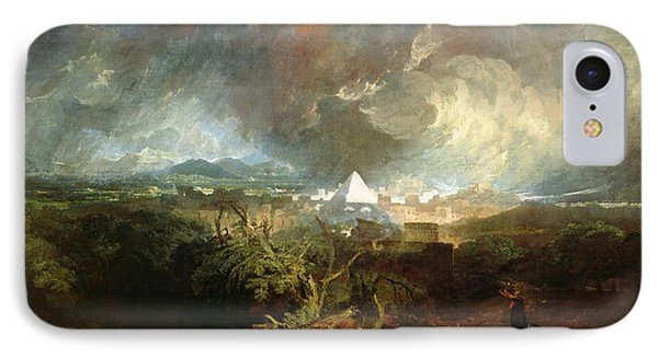 The Fifth Plague Of Egypt IPhone Case by Joseph Mallord William Turner