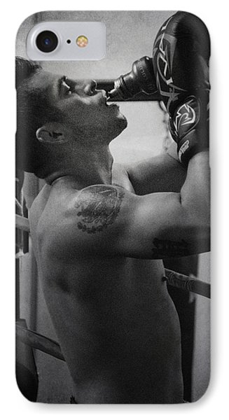 the Fighter Phone Case by Lisa Knechtel