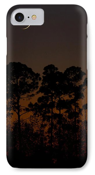 IPhone Case featuring the photograph The Fingernail Moon by Dan Wells